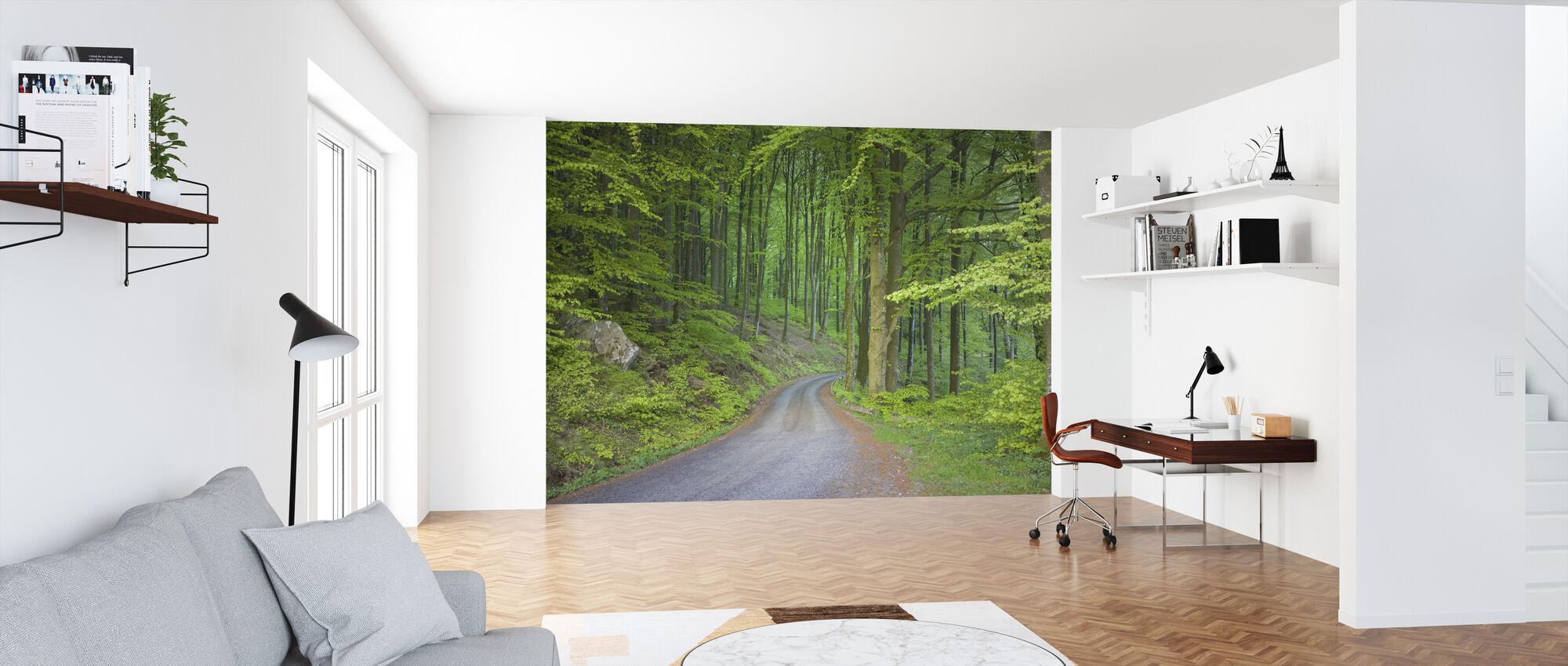 Beech Forest Road - Wallpaper - Office