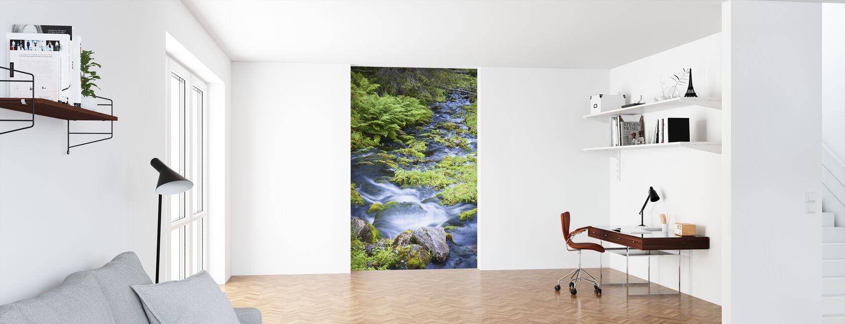 Finnish Brook - Wallpaper - Office