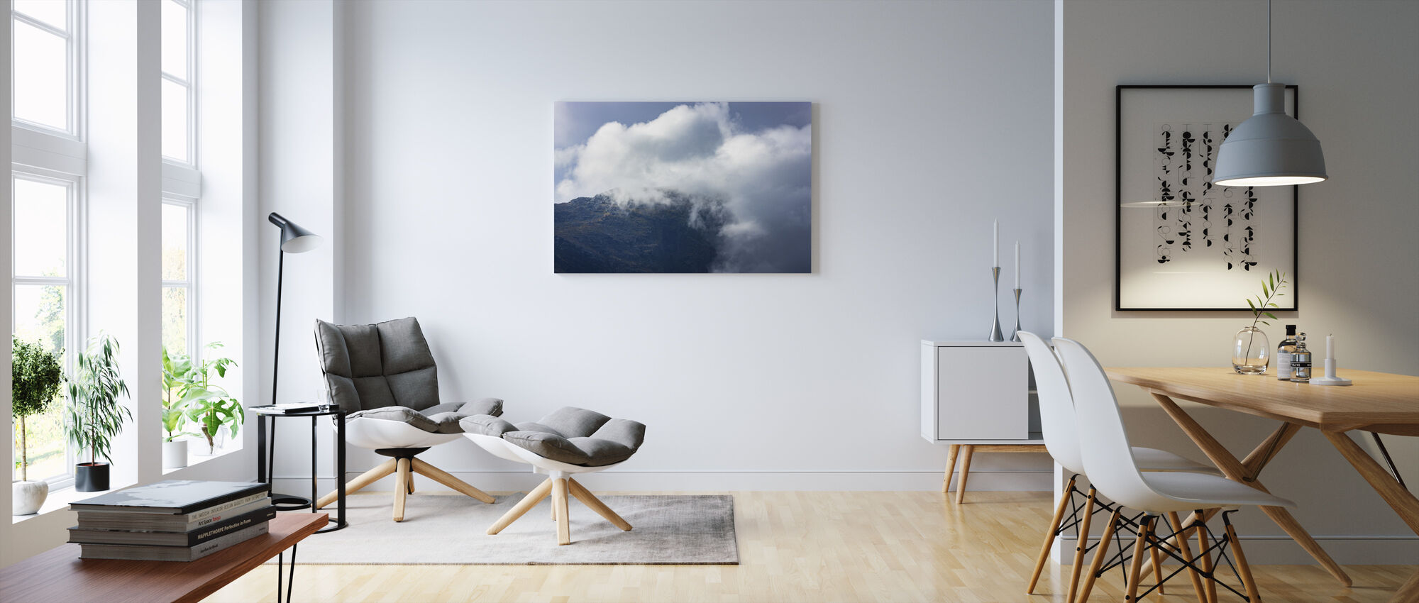 Kierkau Saltoluokta - Canvas print - Living Room