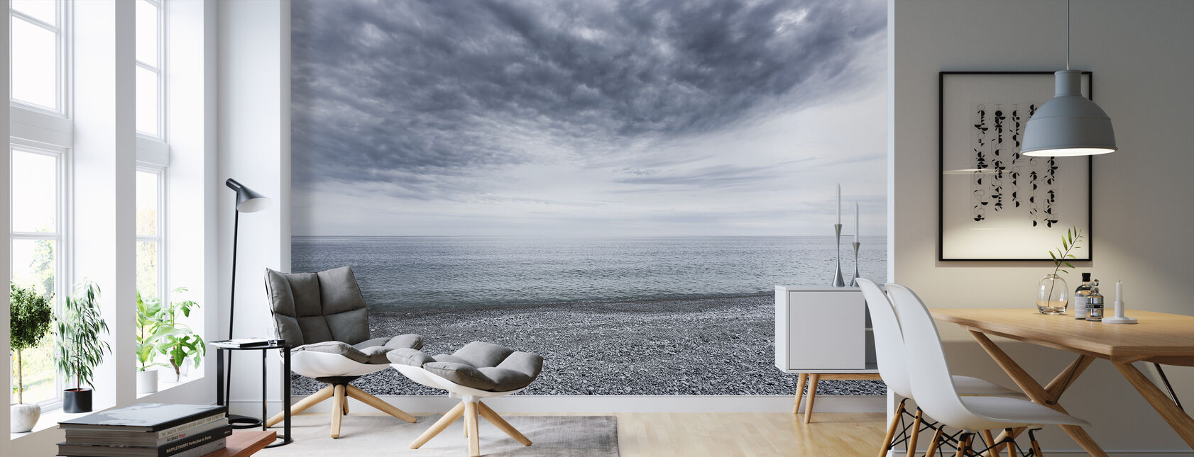Mystery Sea - Wallpaper - Living Room