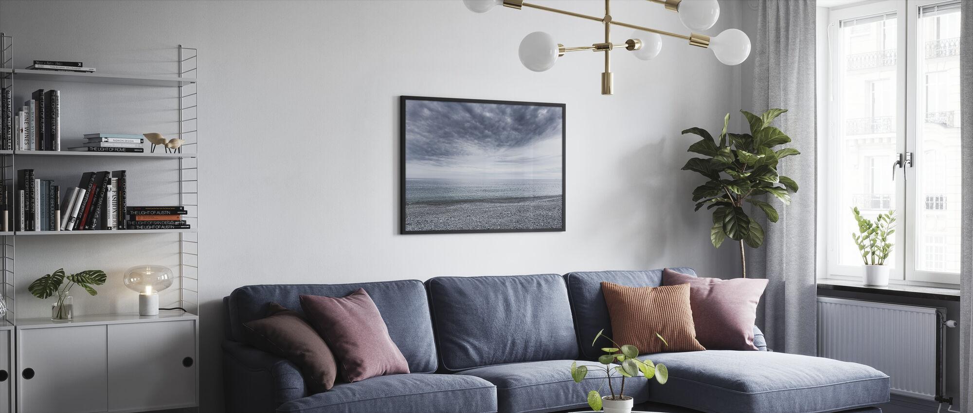 Mystery Sea - Framed print - Living Room