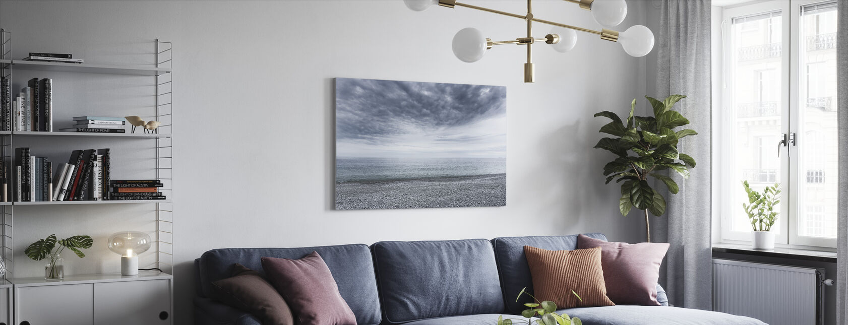 Mystery Sea - Canvas print - Living Room