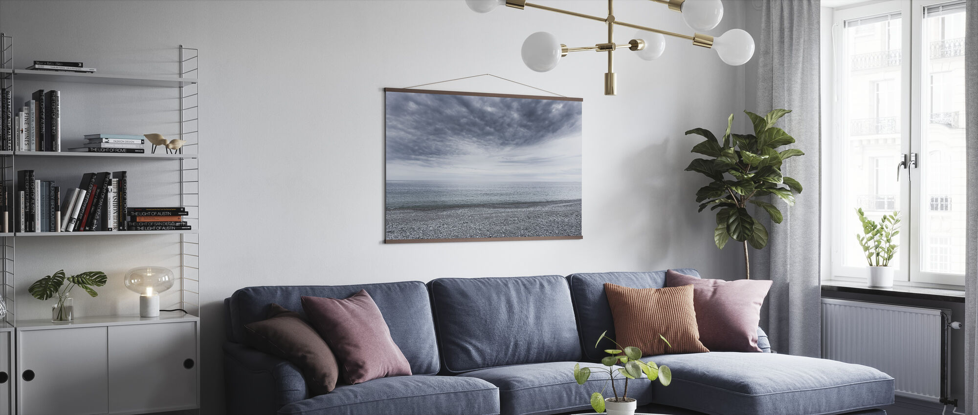 Mystery Sea - Poster - Living Room
