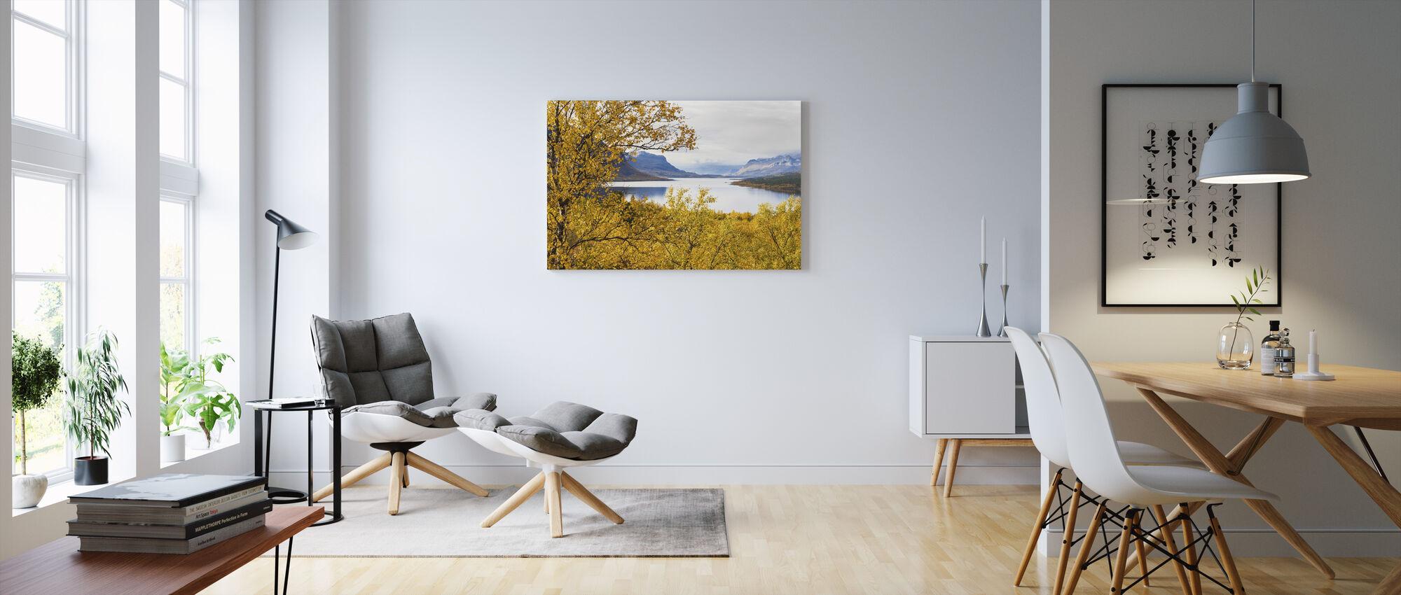 Saltoluokta Landscape - Billede på lærred - Stue
