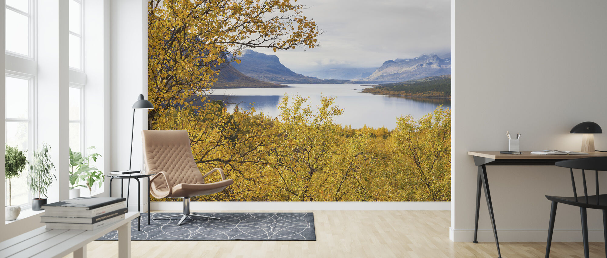 Saltoluokta Landscape - Wallpaper - Living Room