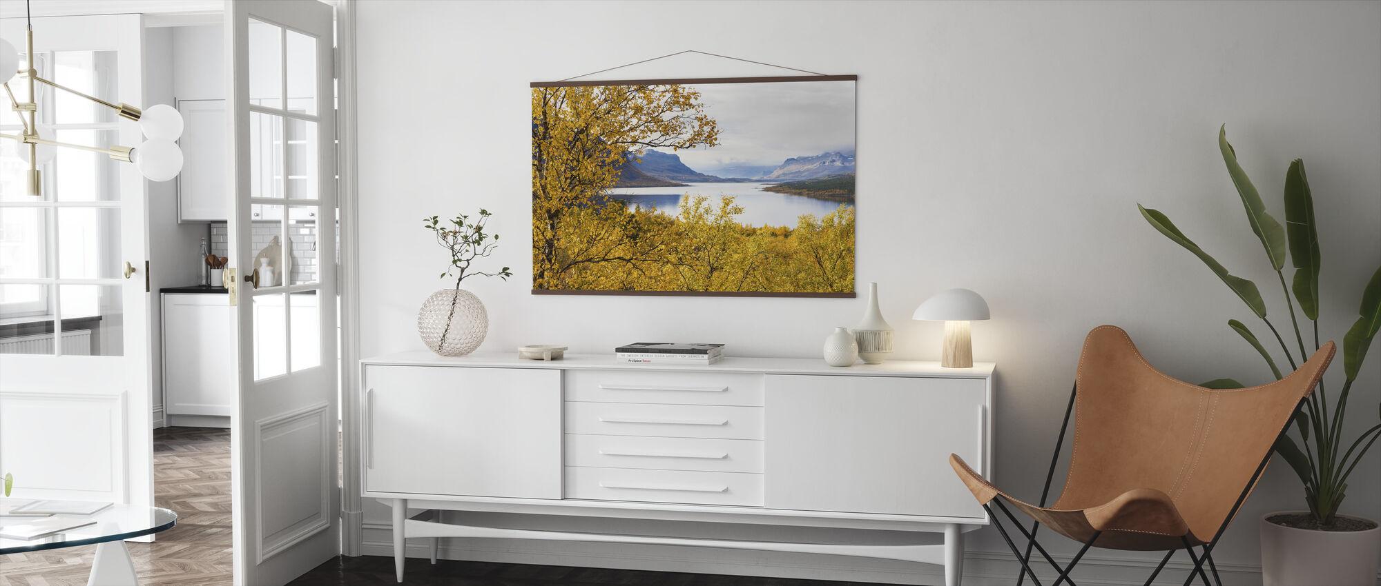 Saltoluokta Landscape - Poster - Living Room