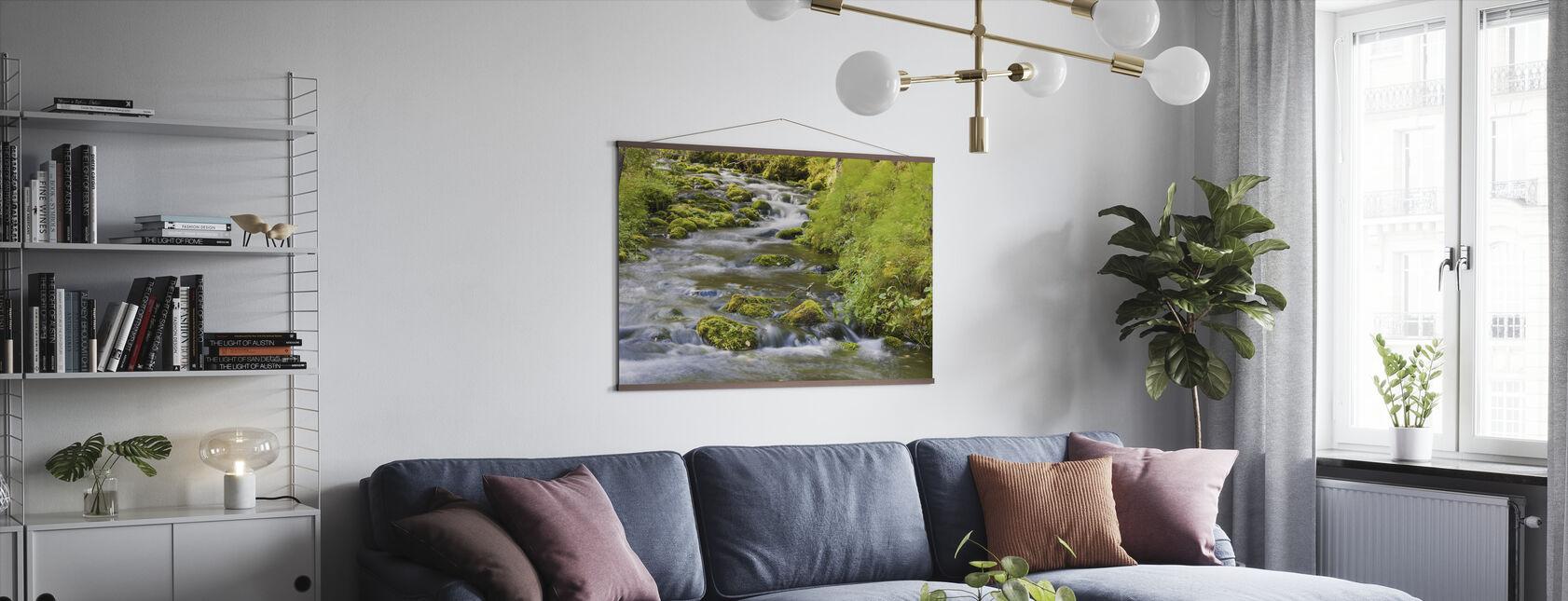 Vaarkankuru River - Poster - Living Room