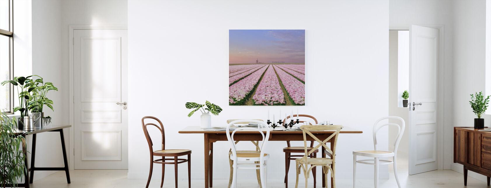 Tulip Fields - Canvas print - Kitchen
