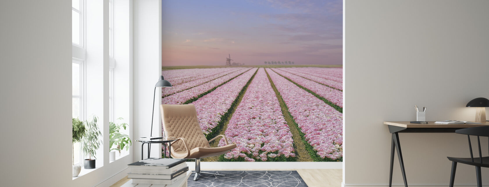 Tulip fält - Tapet - Vardagsrum