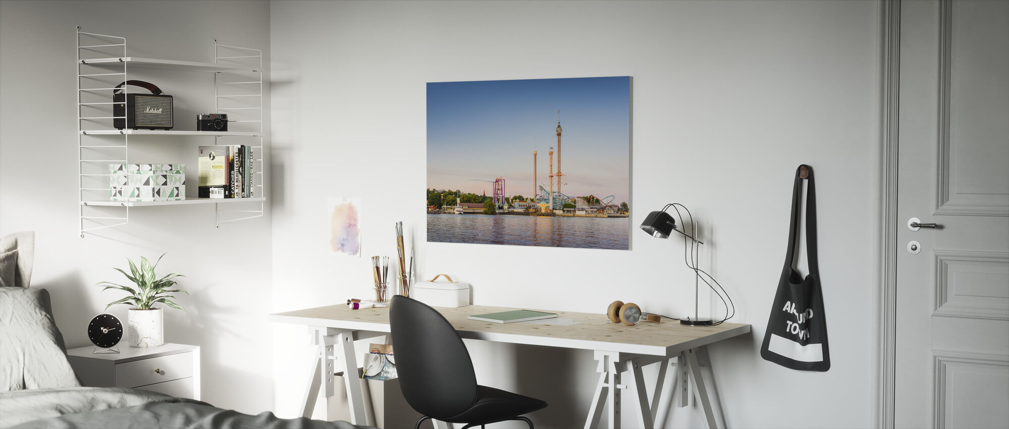 Djurgården, Stockholm - Canvas print - Kids Room