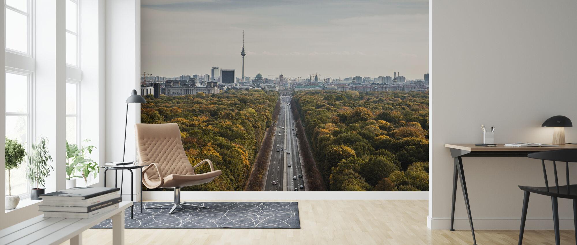 Tiergatan, Berlin - Wallpaper - Living Room