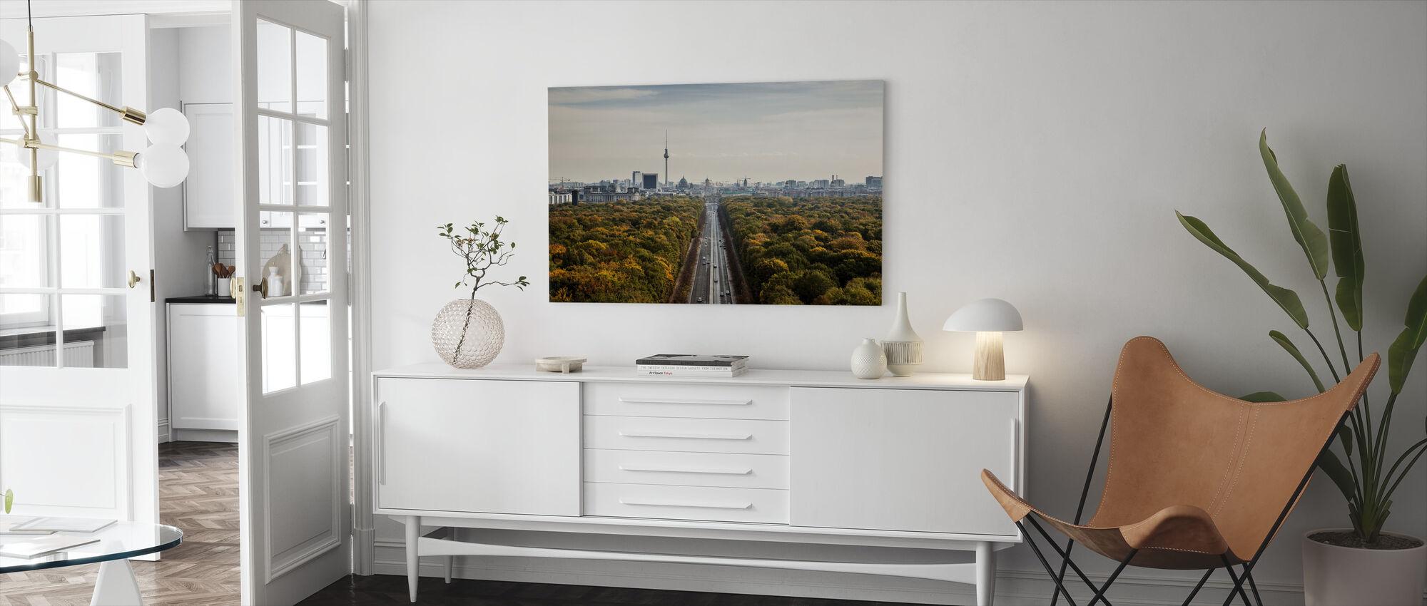 Tiergatan, Berlin - Canvas print - Living Room