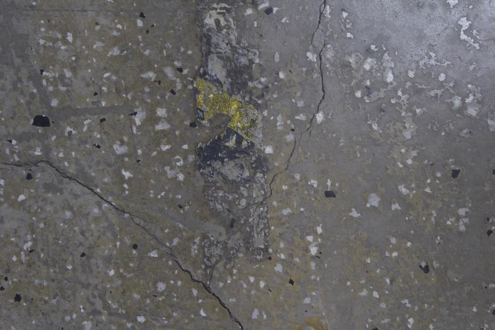 Concrete Floor on Wall 3 Fototapeter & Tapeter 100 x 100 cm