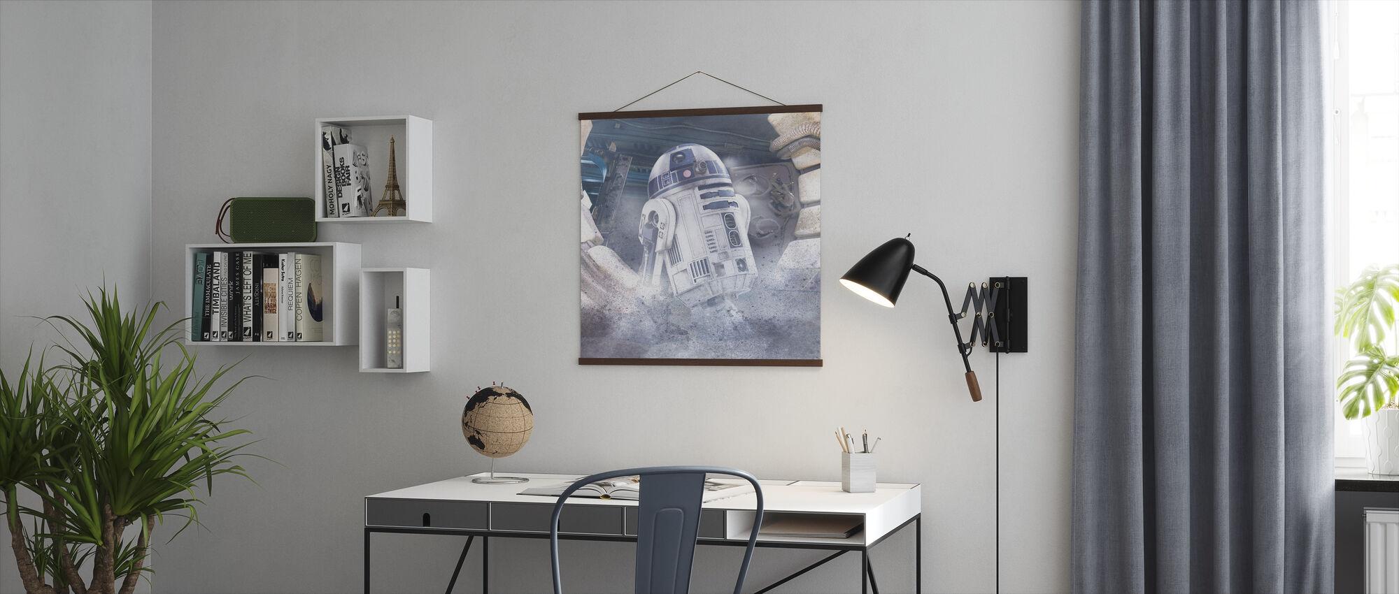 Stjerne kriger - R2-D2 - Plakat - Kontor