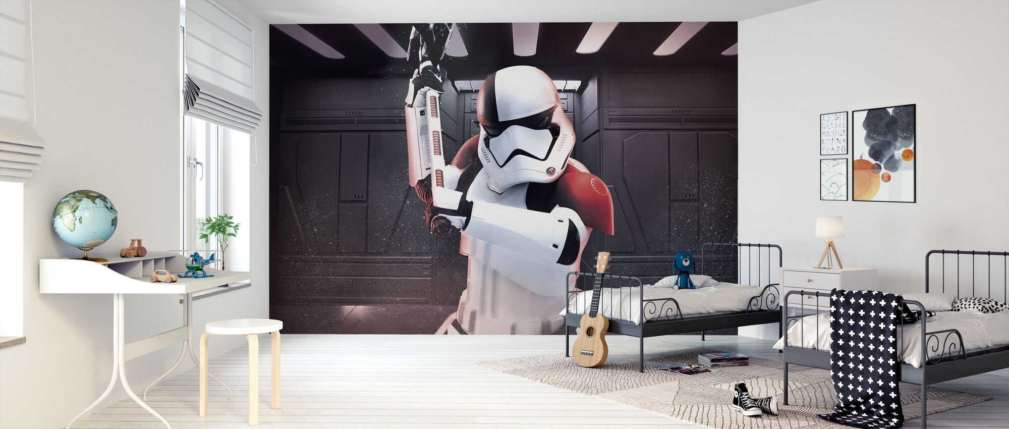 Tähtien sota - aseistettu Stormtrooper - Tapetti - Lastenhuone