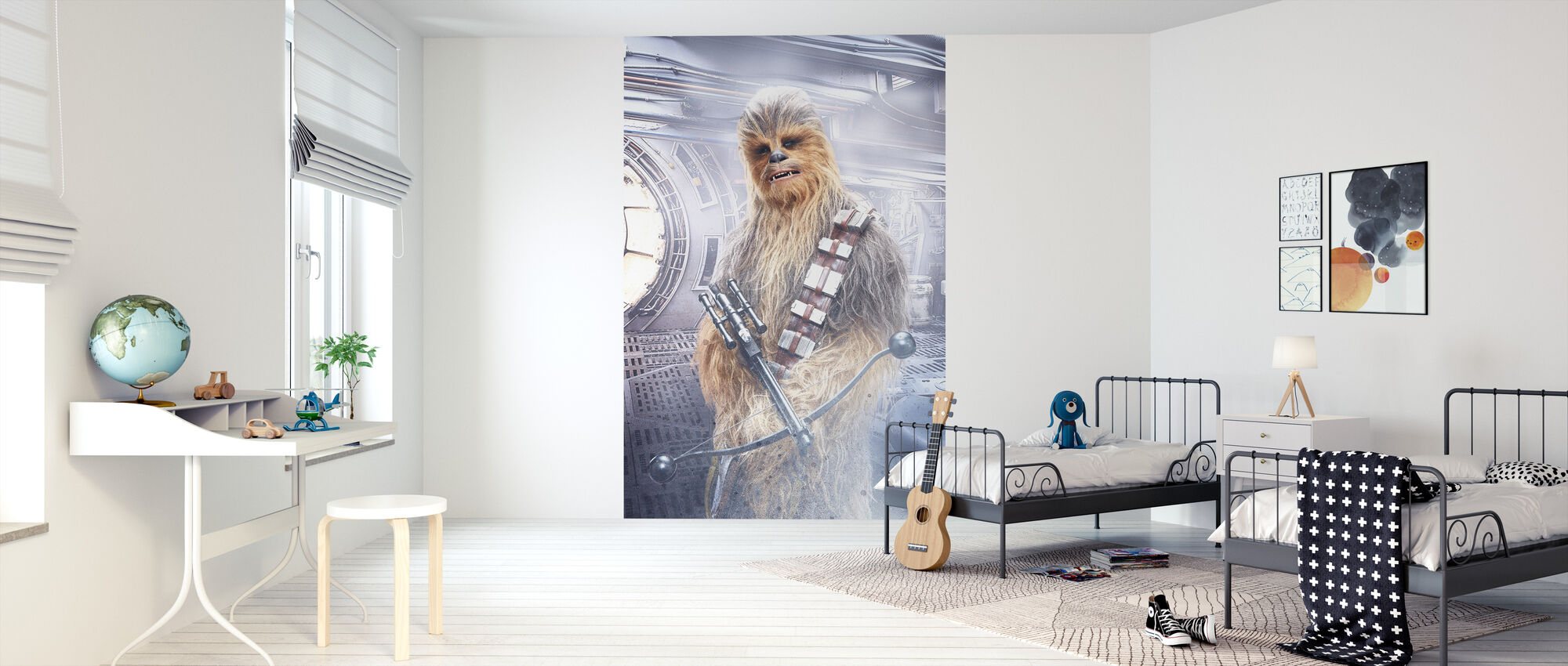 Star Wars - Chewbacca med Bowcaster - Tapet - Barnerom