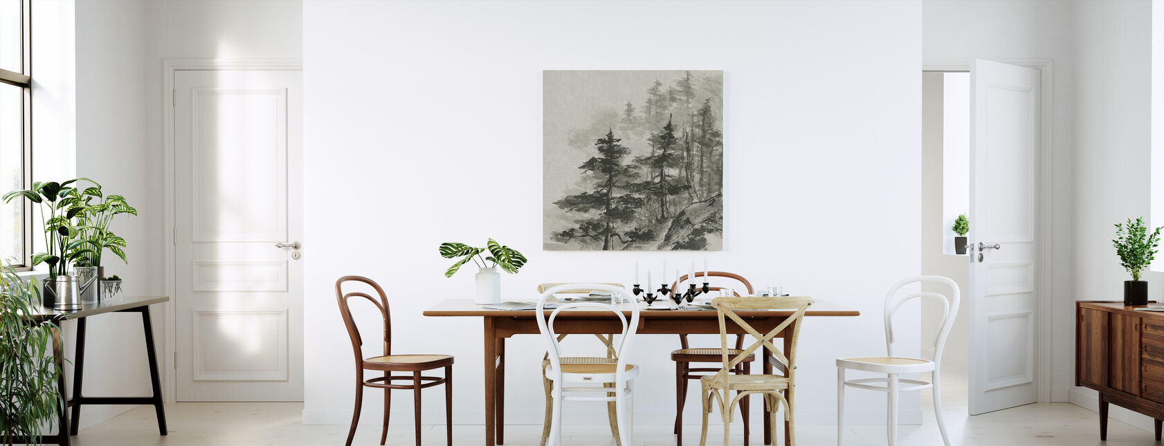 Sumi Treetops - Canvastaulu - Keittiö