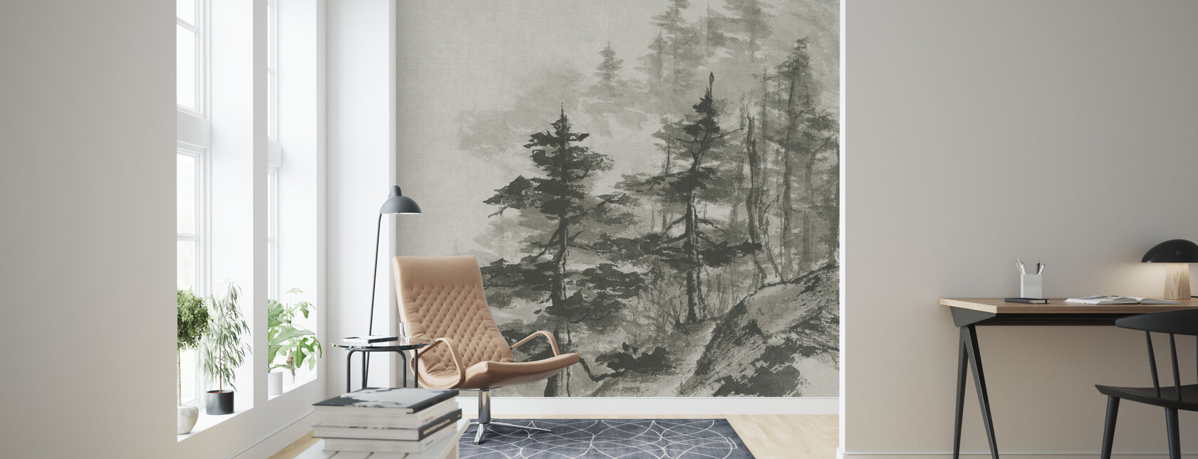 Sumi Treetops - Papier peint - Salle à manger