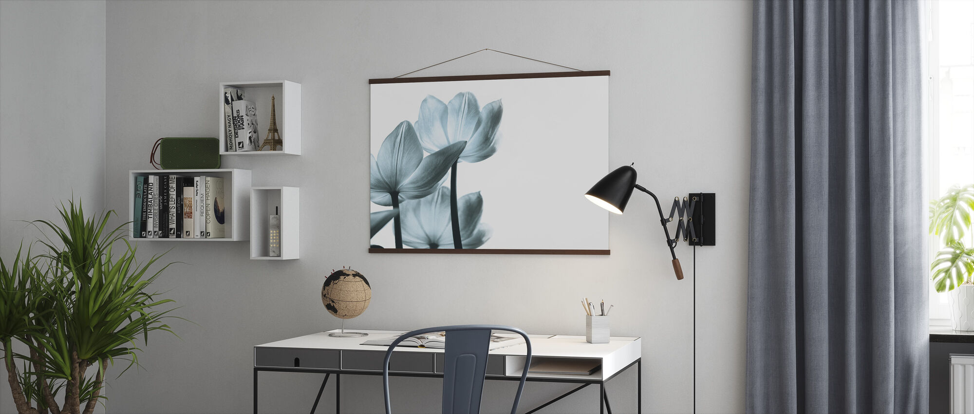 Translucent Tulips - Poster - Office