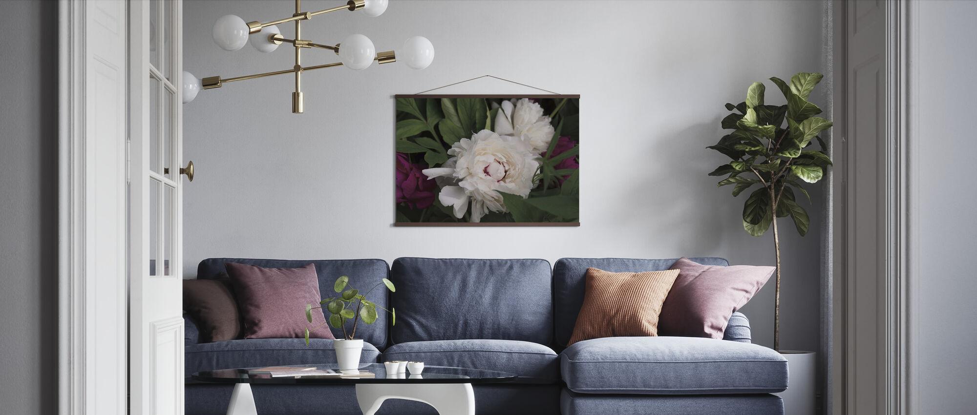 Peonies - Poster - Living Room