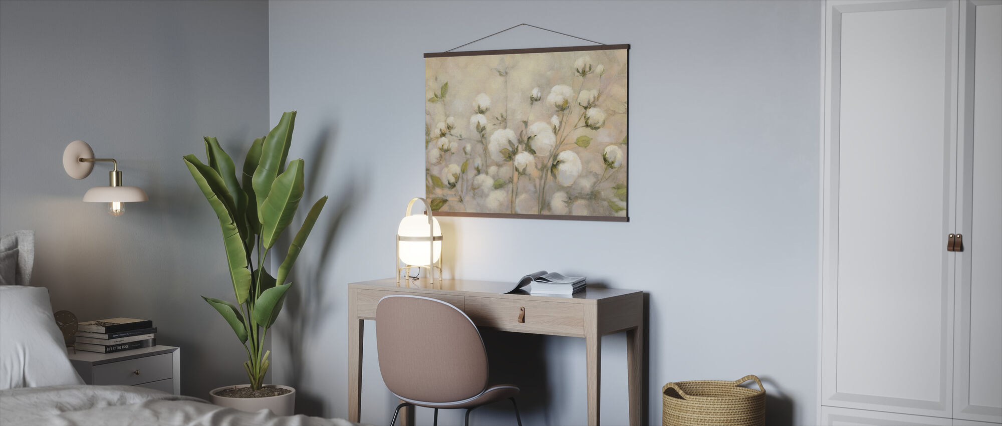 Cotton Field - Poster - Office