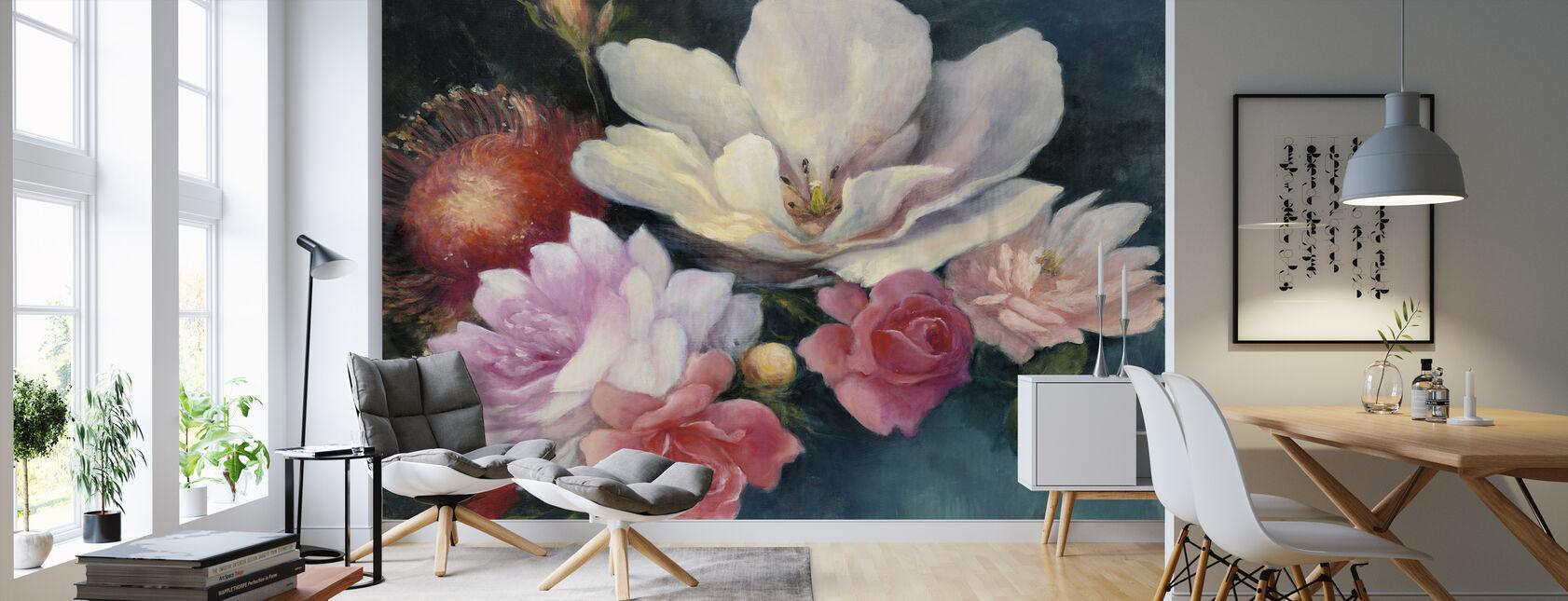 Flemish Fantasy - Wallpaper - Living Room