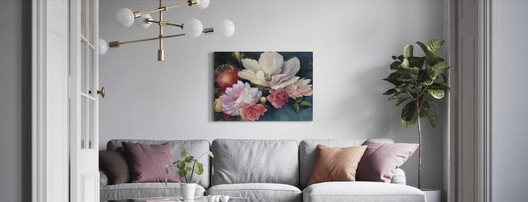 Flemish Fantasy - Canvas print - Living Room