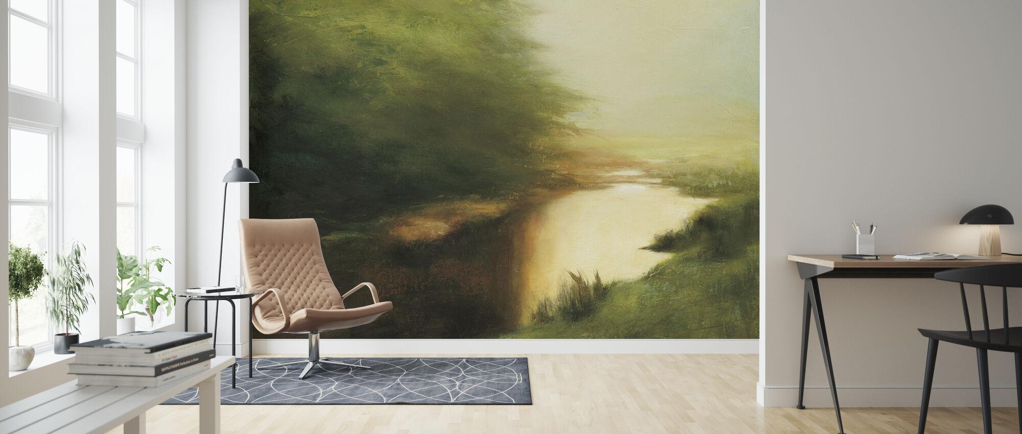Spring Morning - Wallpaper - Living Room