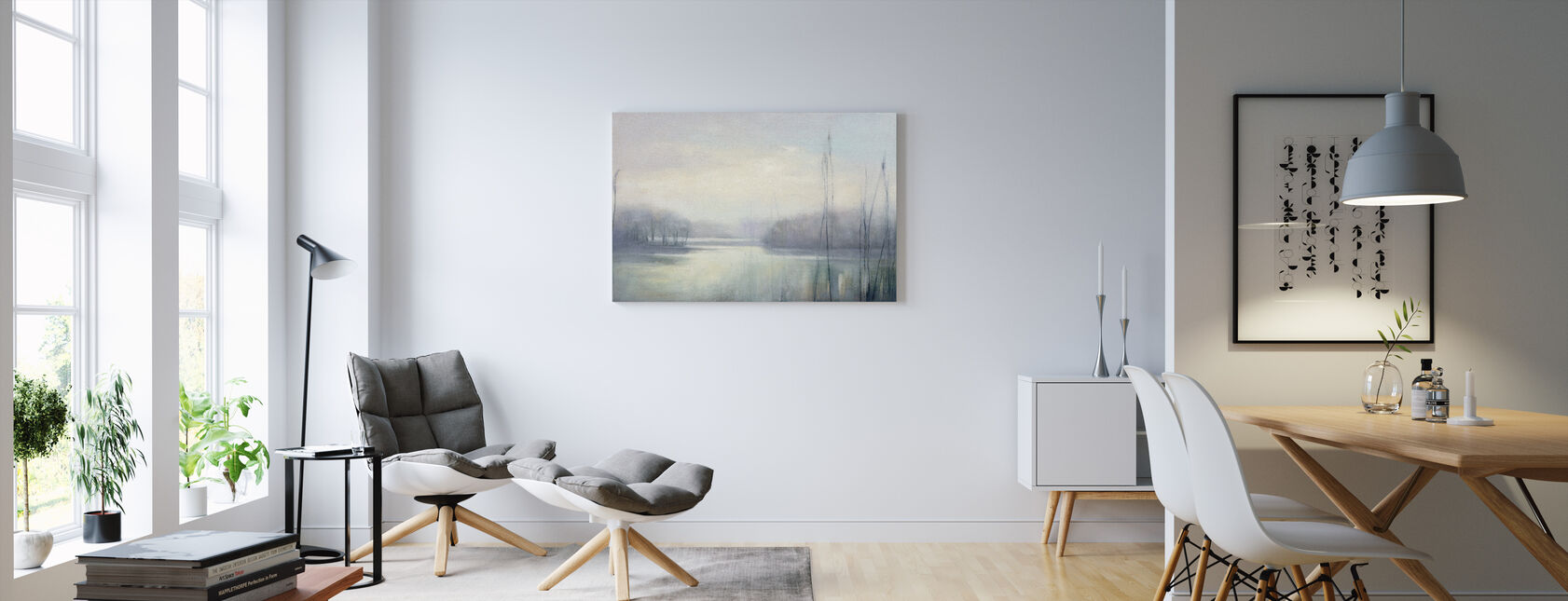 Misty Memories - Canvas print - Living Room