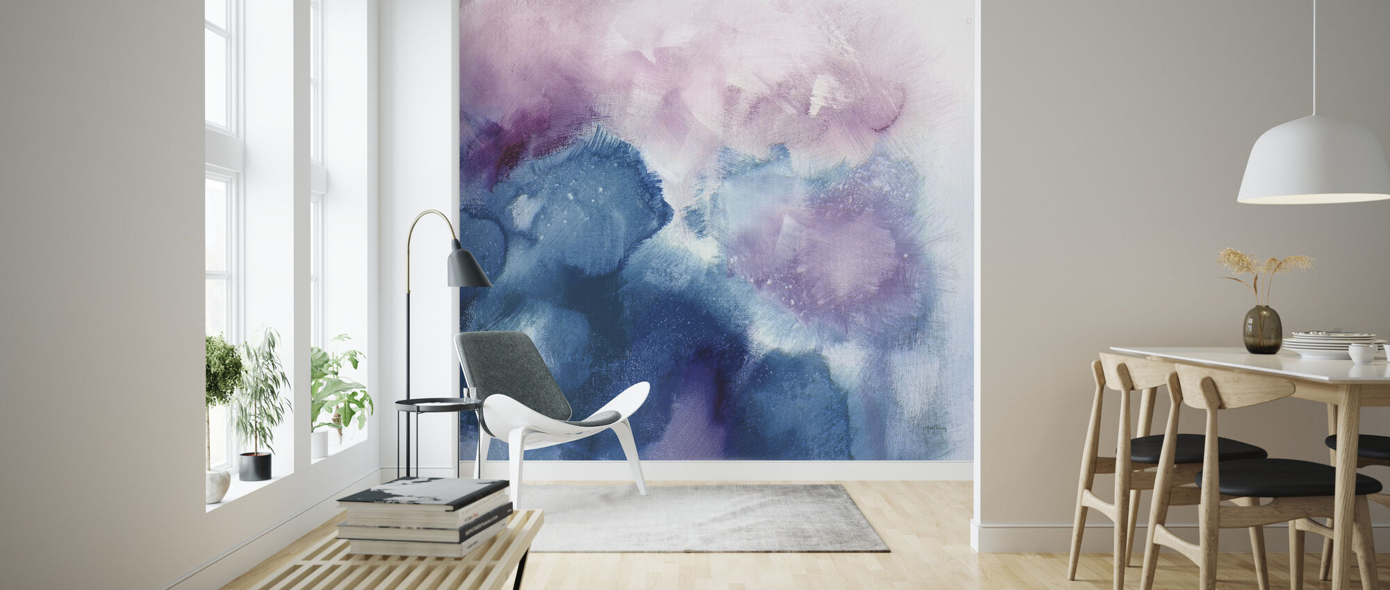 Nebula - Wallpaper - Living Room