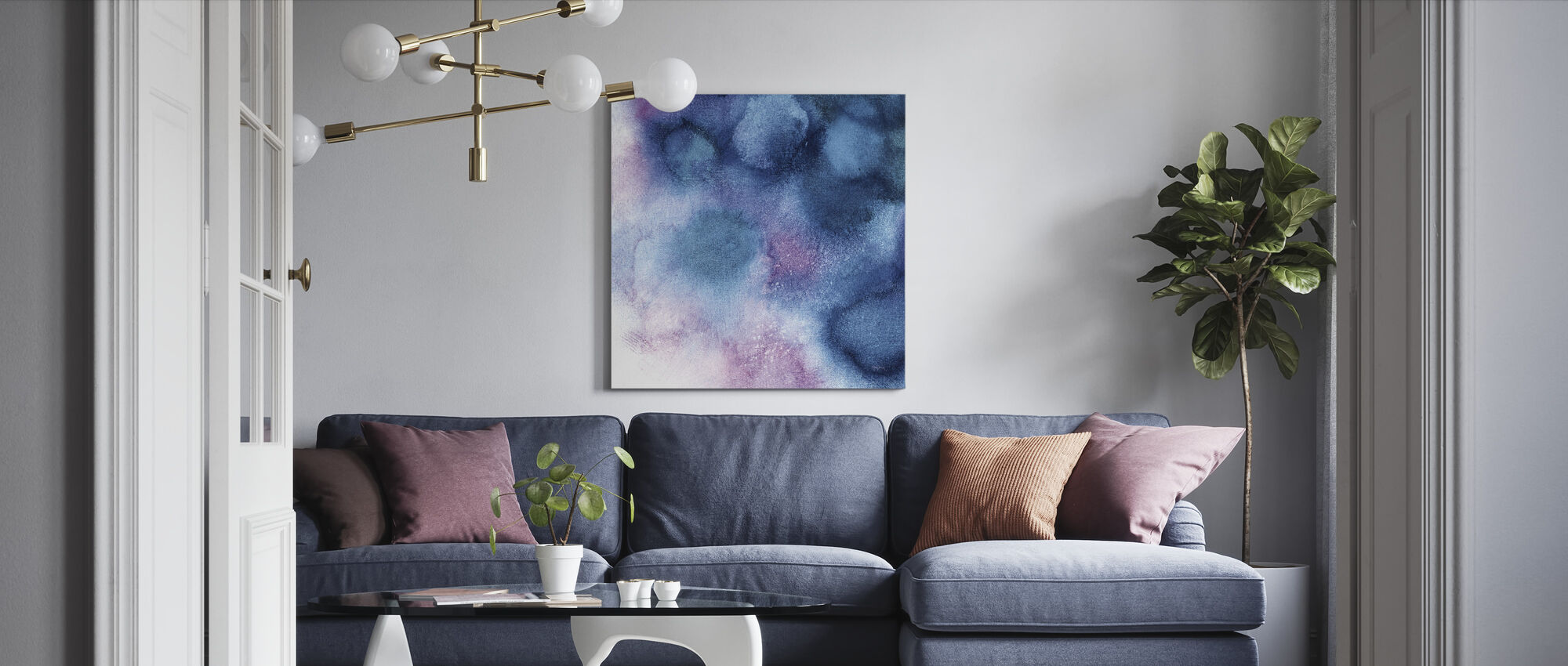 Nebula 2 - Canvas print - Living Room