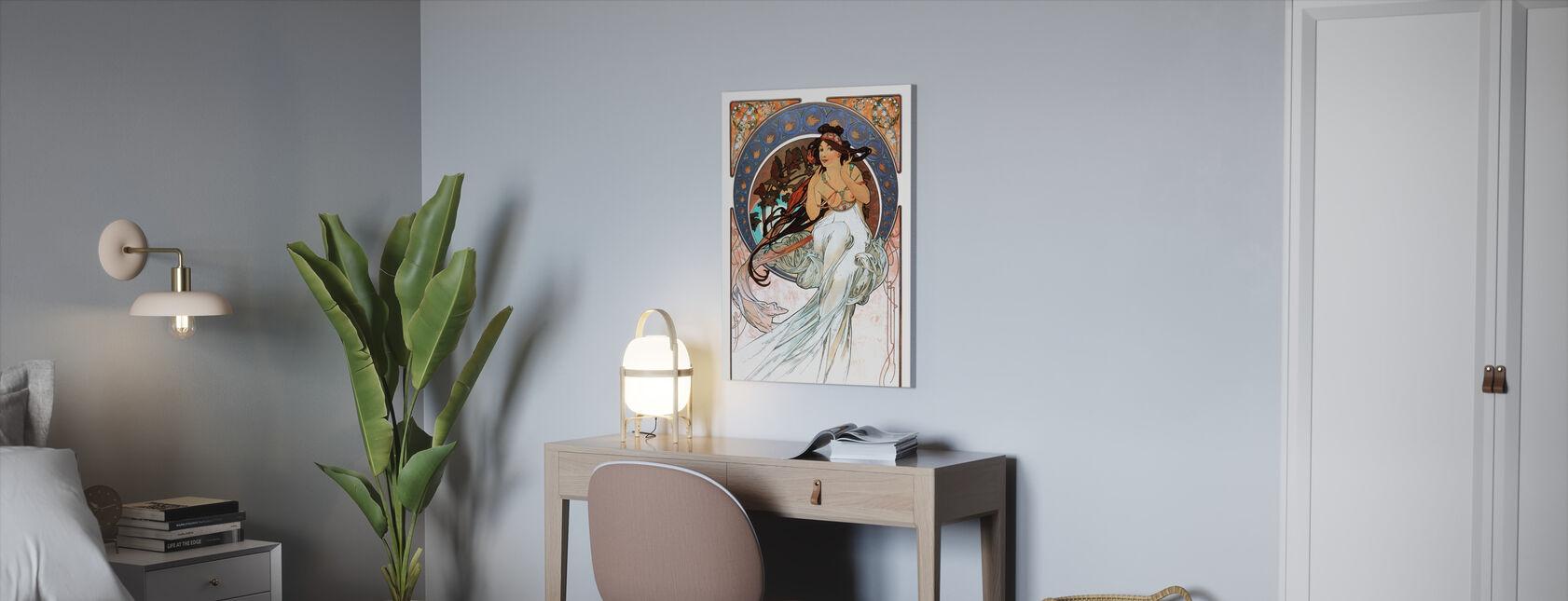 Alphonse Mucha - Art Noveau - Canvas print - Kantoor