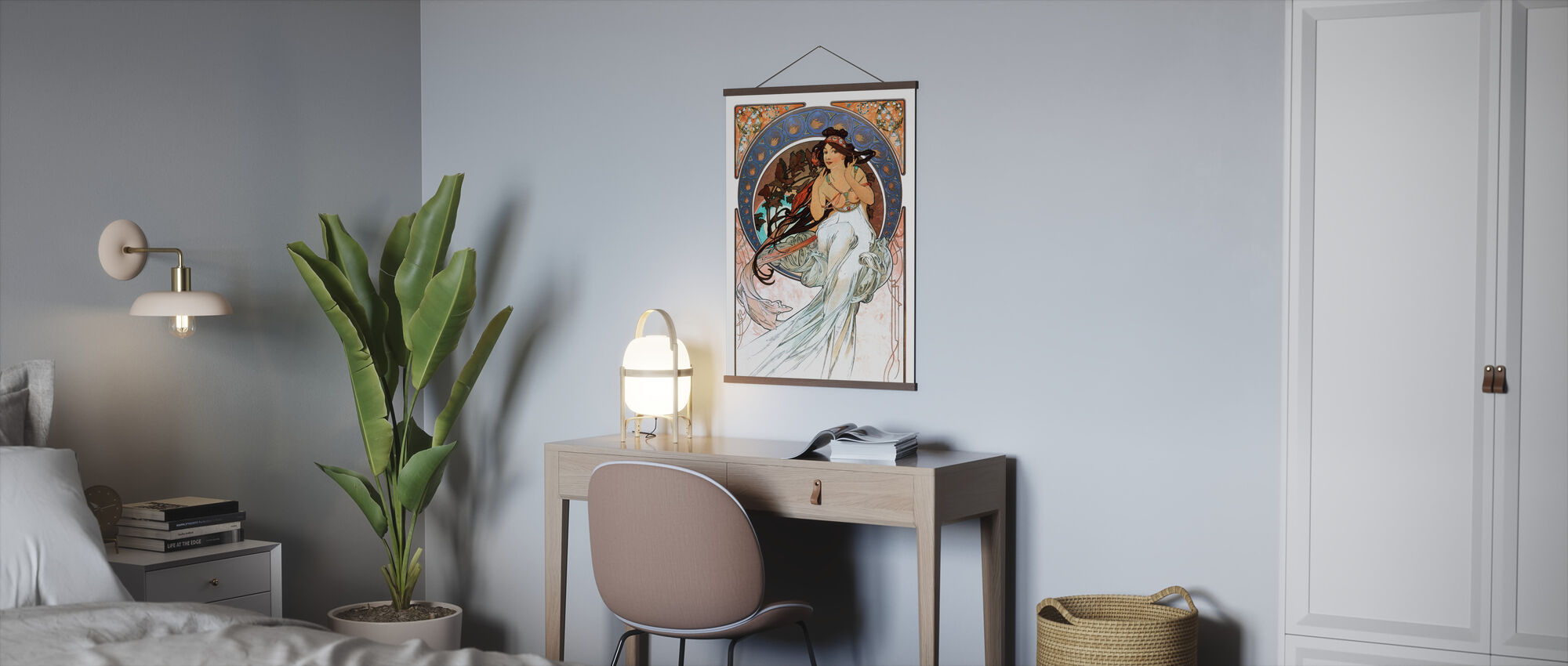 Alphonse Mucha - Art Noveau - Plakat - Kontor