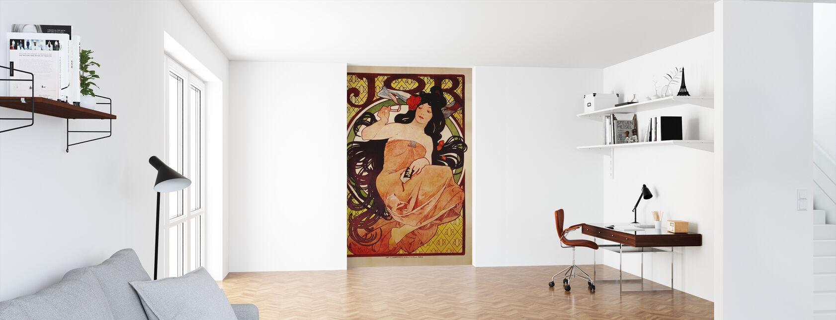 Alphonse Mucha - Job Colour Litho - Tapete - Büro