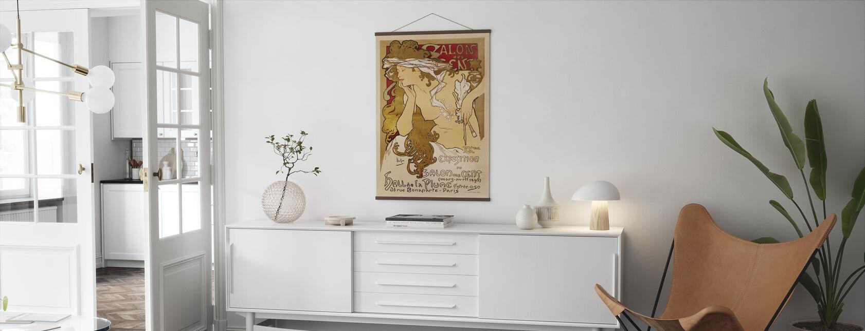 Alphonse Mucha - Salon des Cent - Poster - Wohnzimmer