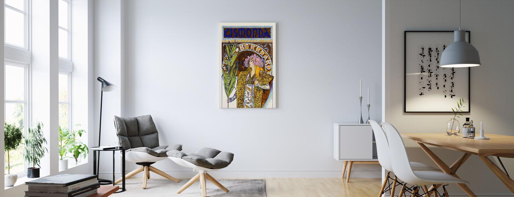 Alphonse Mucha - Theatre Renaissance - Canvas print - Living Room