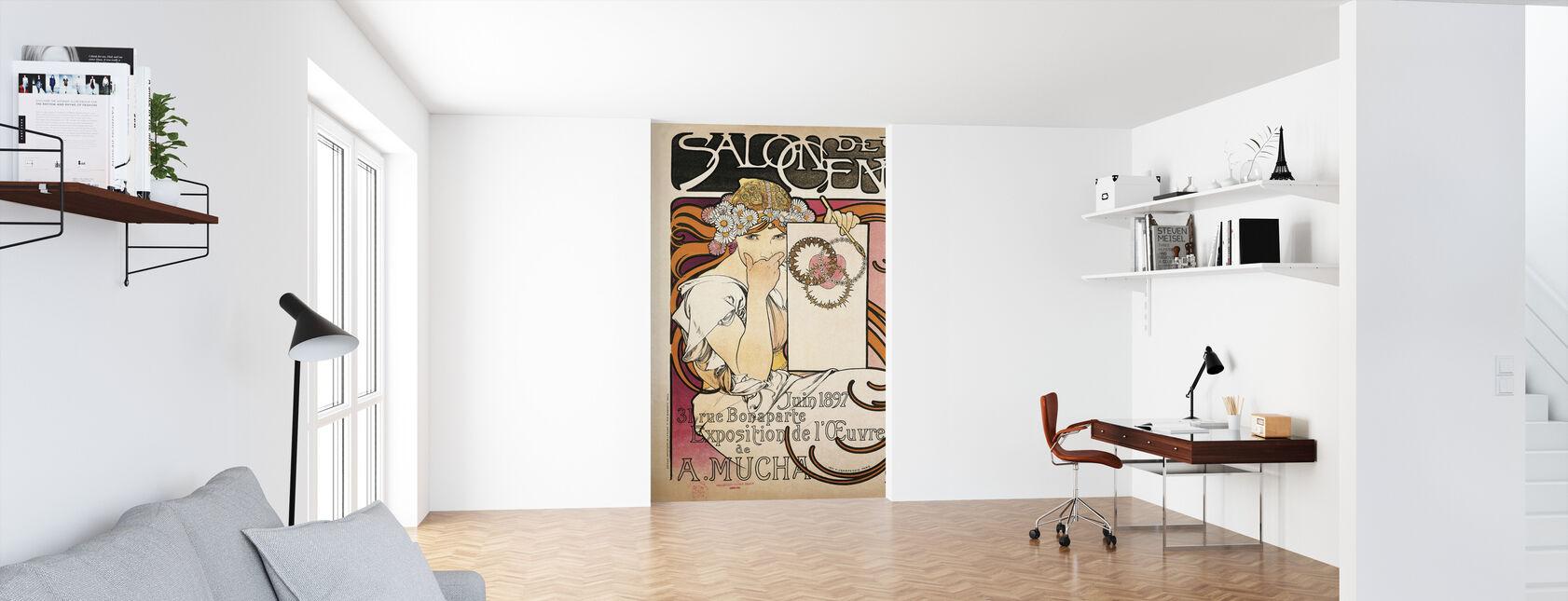 Alphonse Mucha -Salon des Cent 1897 - Wallpaper - Office