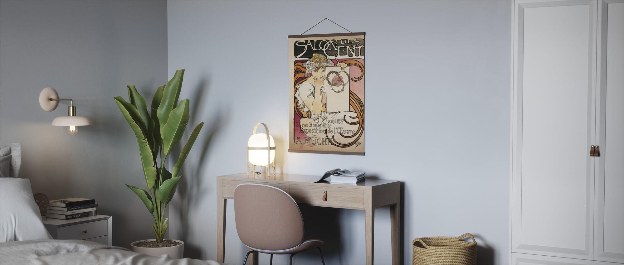 Alphonse Mucha -Salon des Cent 1897 - Poster - Office
