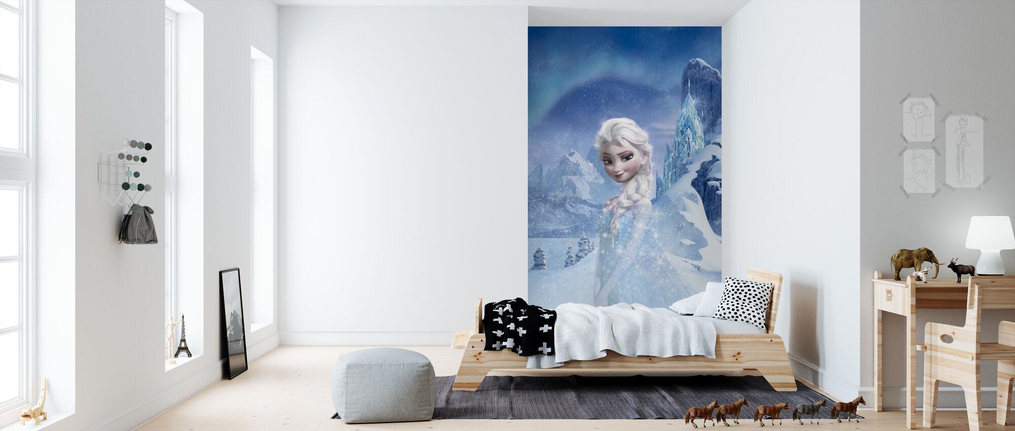 Frosset - Glimrende Elsa - Tapet - Børneværelse