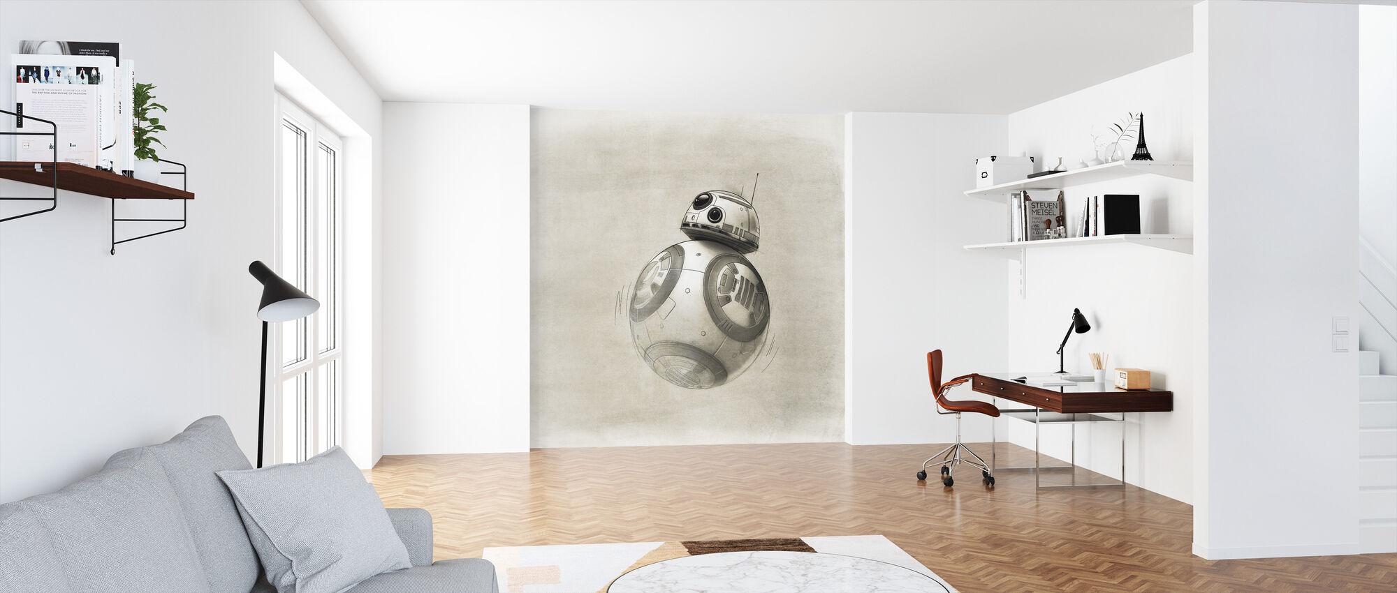 Star Wars - Tegning av BB-8 - Tapet - Kontor