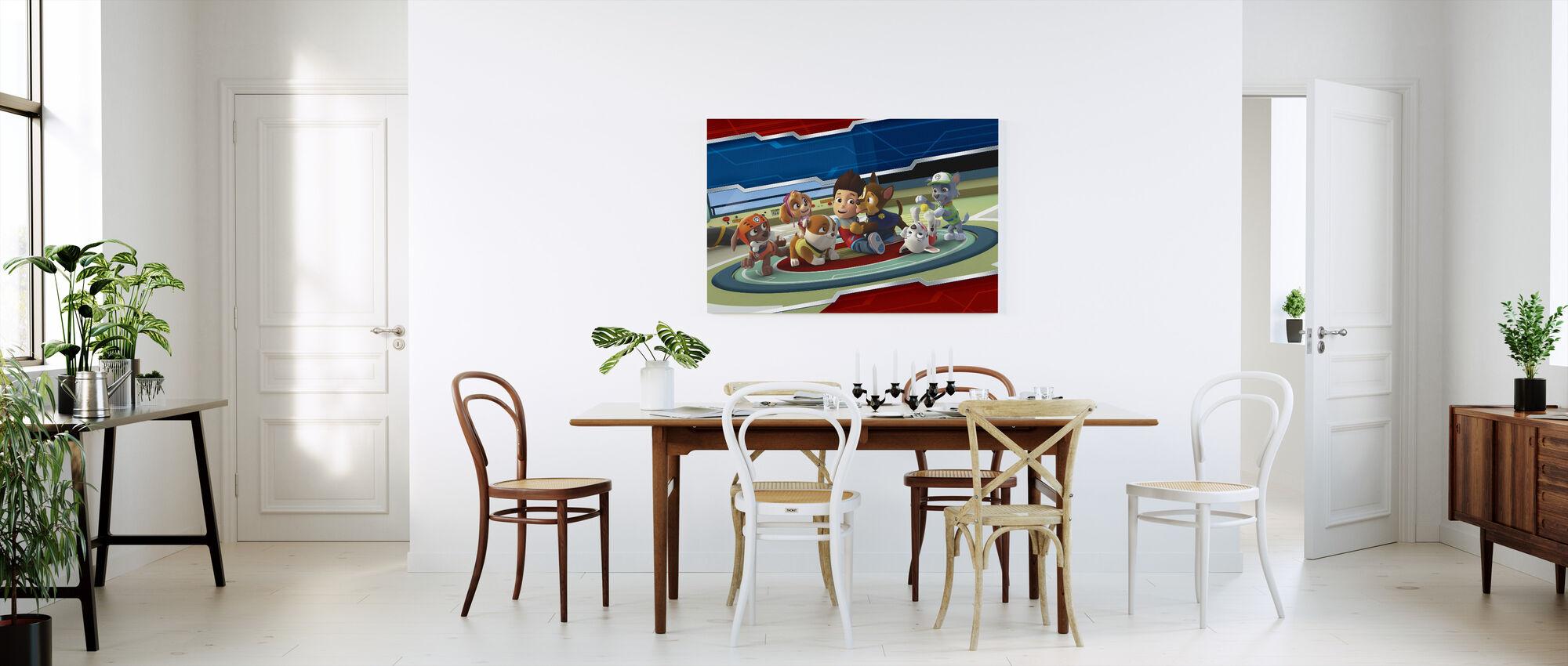 PAW Patrol - Alle poten op dek - Canvas print - Keuken