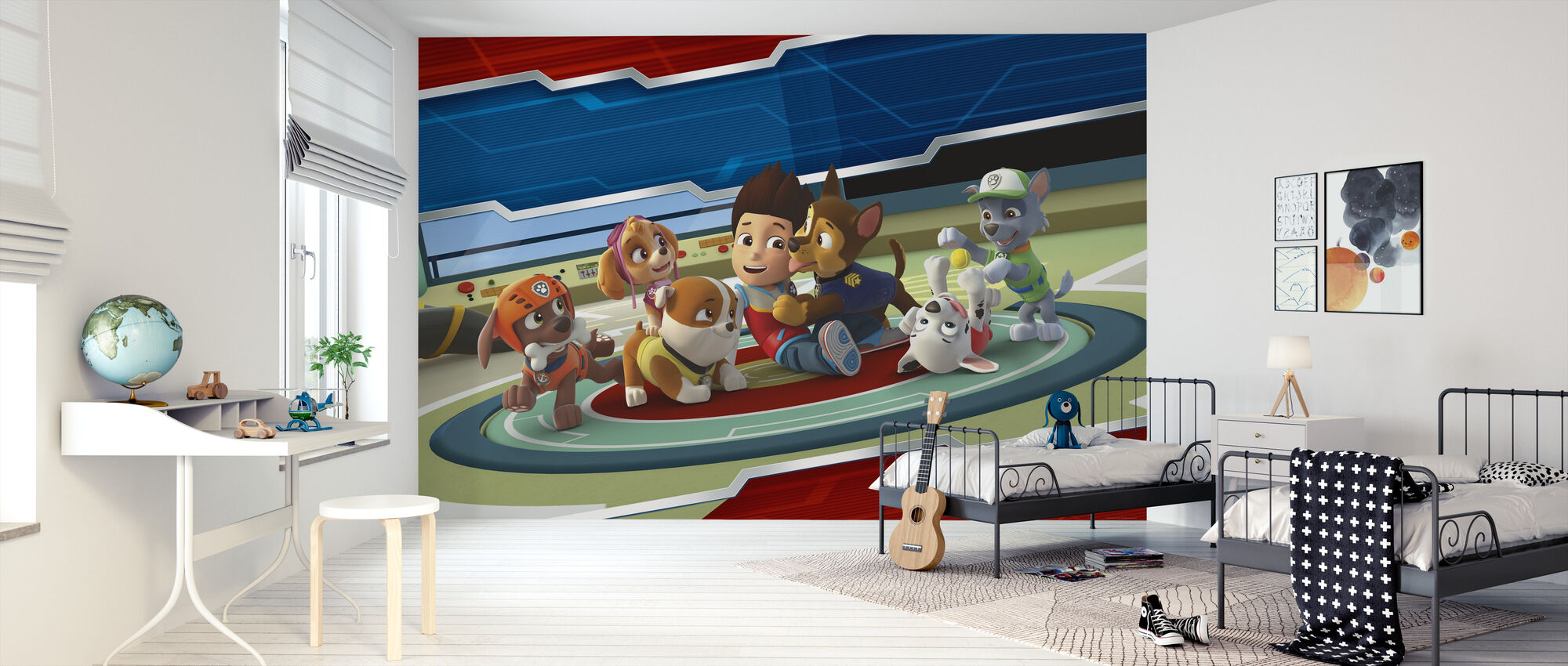 PAW Patrol - All Paws on Deck - Wallpaper - Kids Room