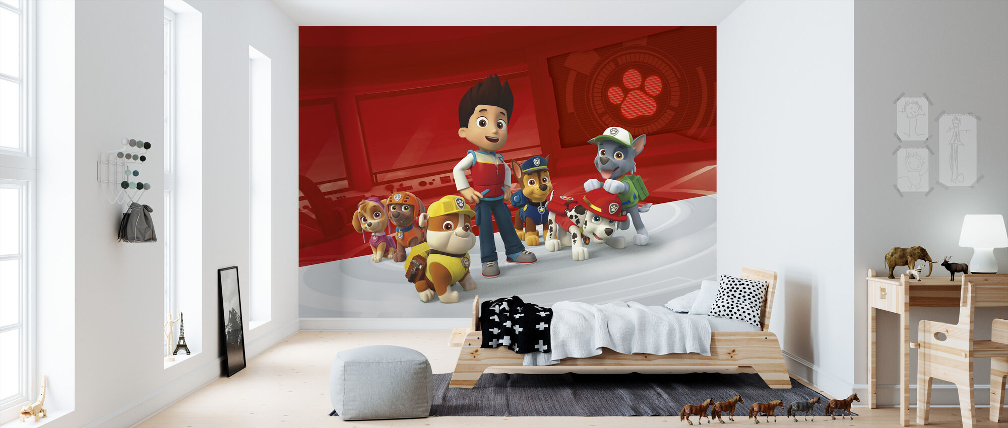 PAW Patrol - No job is to big - No pup is to small - Wallpaper - Kids Room