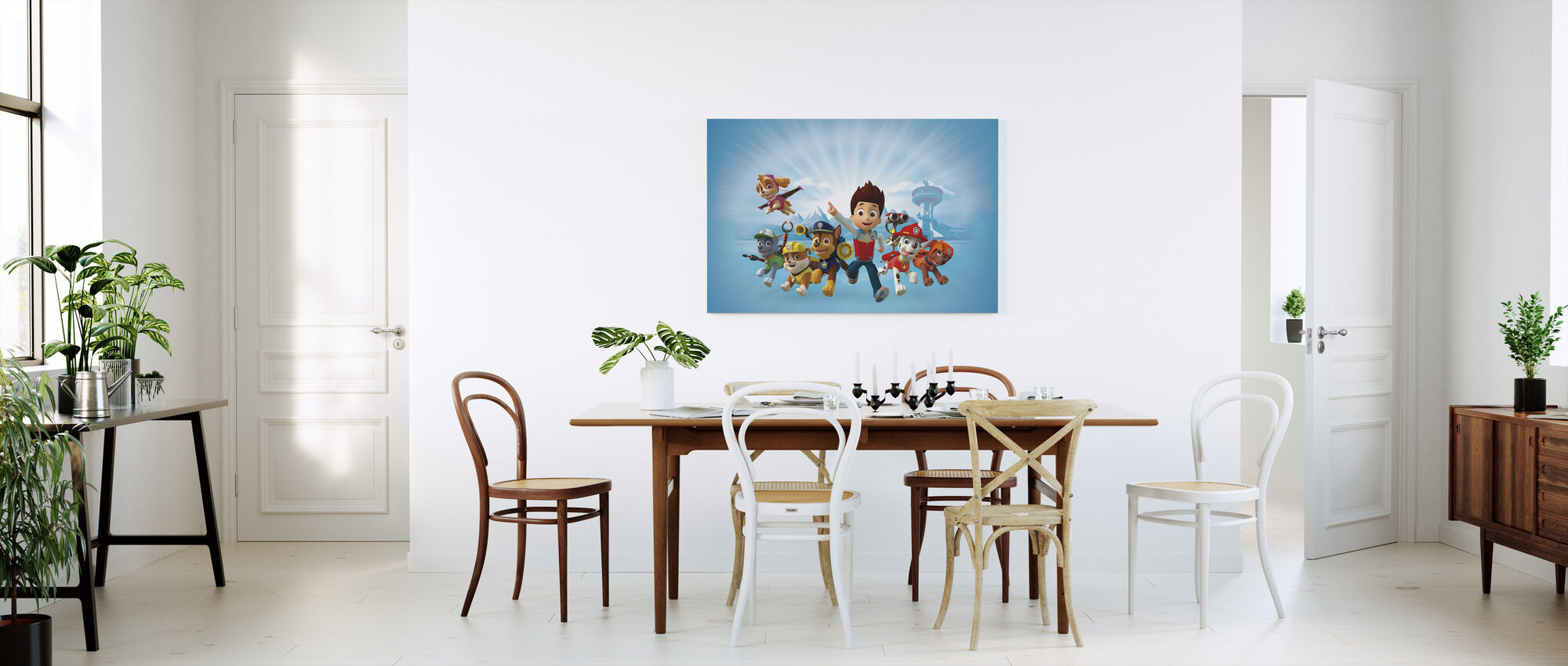 PAW Patrol - PAW Patrol is on a roll - Canvas print - Kitchen