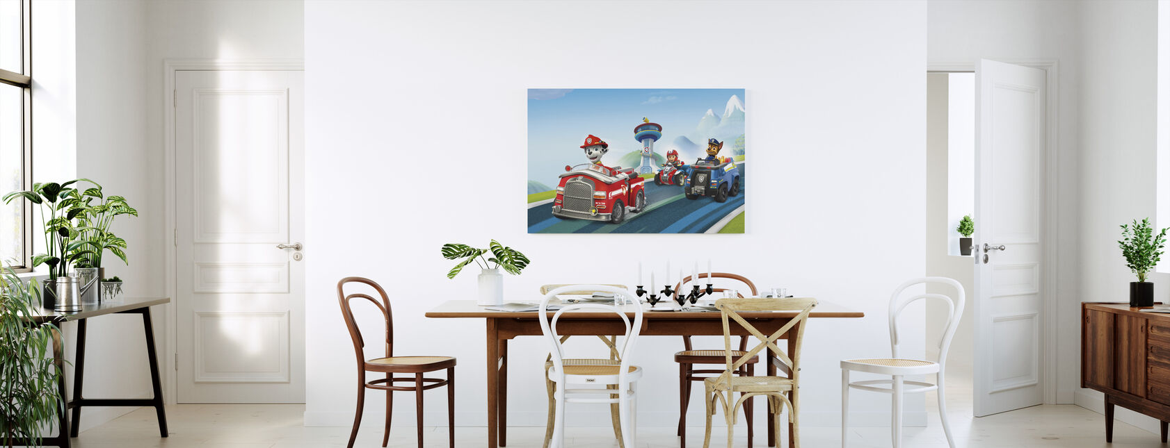 PAW Patrol - Klaar voor Actie - Canvas print - Keuken