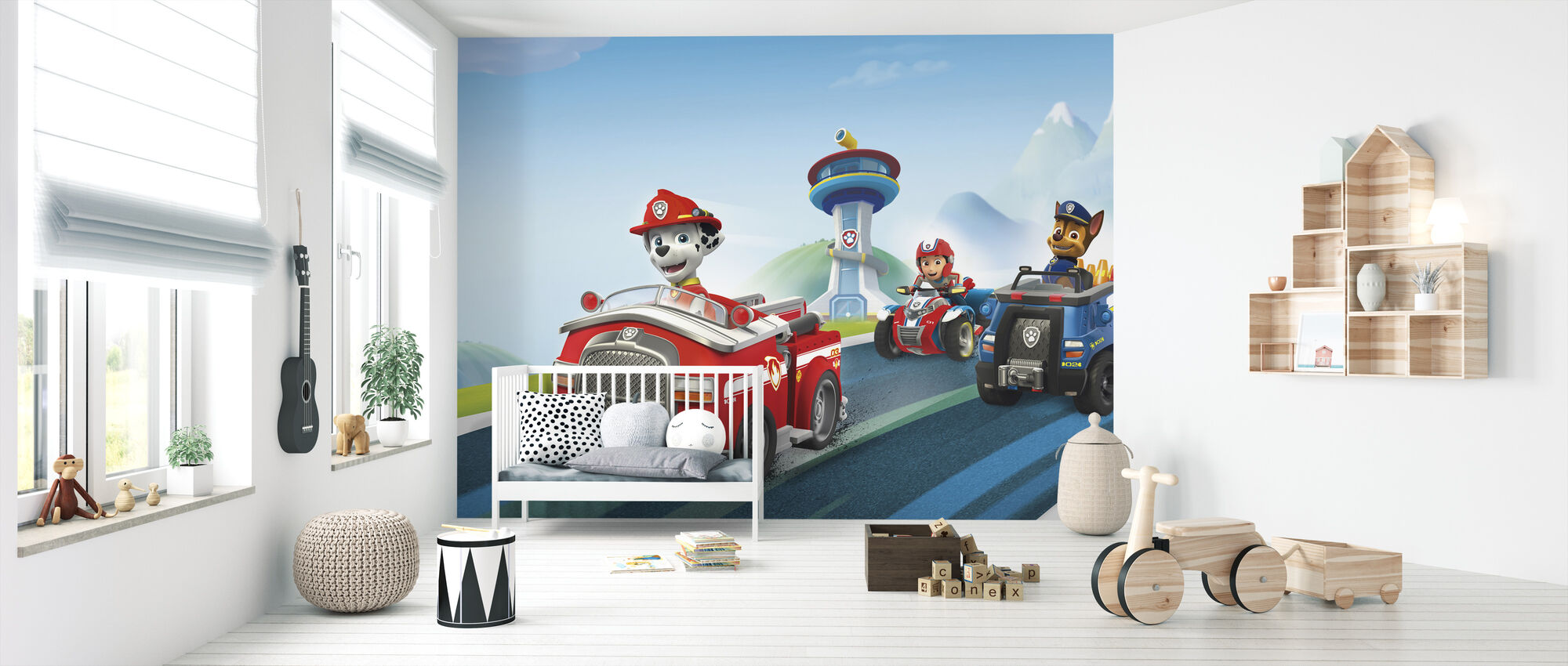PAW Patrol - Ready for Action - Wallpaper - Nursery