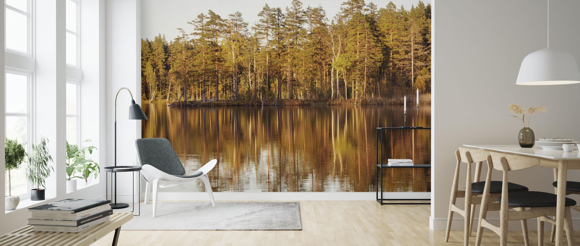 Träd av Ga ̈ strikland, Sverige - Tapet - Vardagsrum