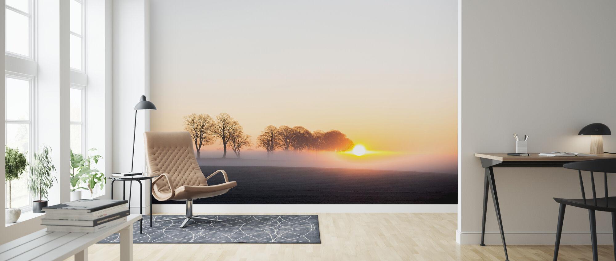 Vakna upp i Sverige - Tapet - Vardagsrum