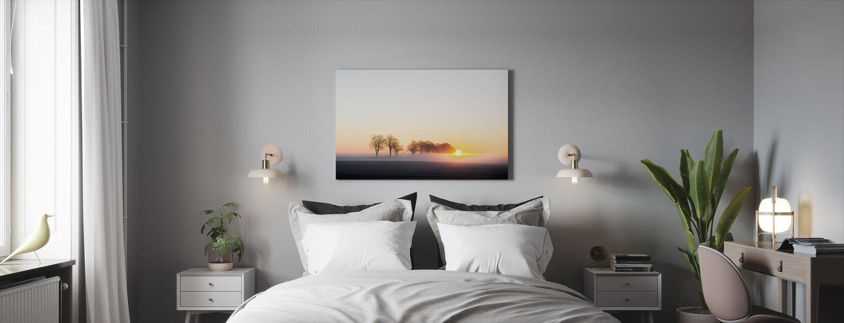 Herääminen Ruotsissa - Canvastaulu - Makuuhuone