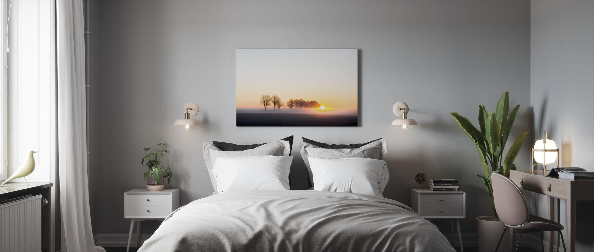 Wakker worden in Zweden - Canvas print - Slaapkamer